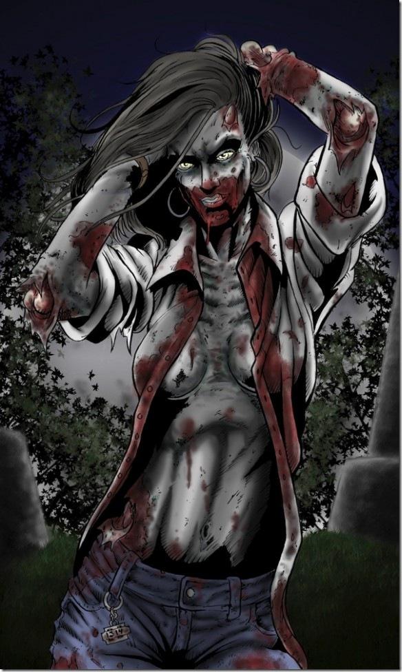 Chega de Feliz dia da Mulher. Feliz somos nós Zombies!